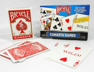 six handed canasta card game