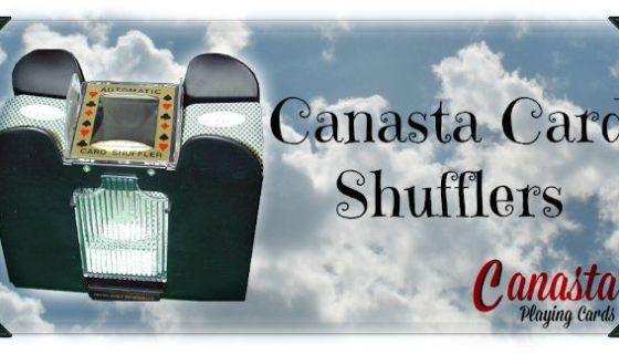 canasta card shuffler