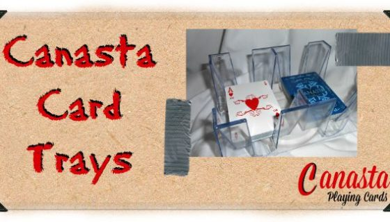 Canasta Card Trays
