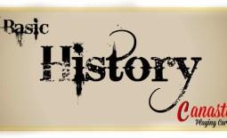 Basic History of Canasta