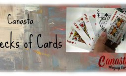 Real Canasta Playing Cards